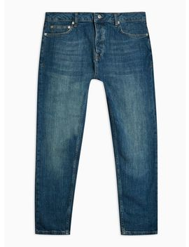 Mid Wash Carrot Fit Denim Jeans by Topman