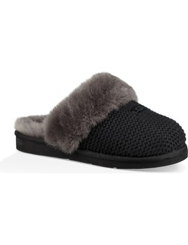 Cozy Knit Genuine Shearling Slipper by Ugg®
