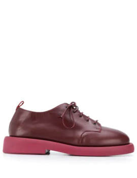 Oversized Sole Oxford Shoes by Marsèll