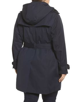 Trench With Detachable Liner (Plus Size) by London Fog