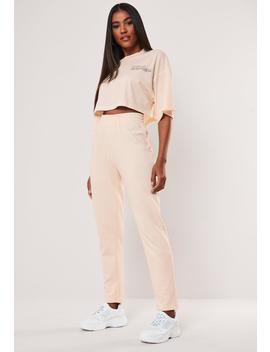 Sand Slim Joggers by Missguided