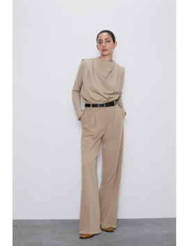 Pleated Top New Inwoman by Zara