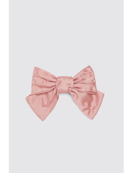 Pearl Hair Clip With Bow Hair Accessories Accessories Woman by Zara
