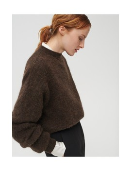 Sweter Z Wełną Z Alpaki by Reserved