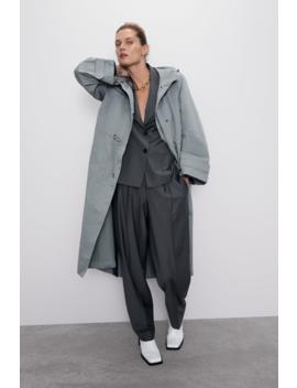 Parka Oversize À Capuche Tout Voir Manteaux I Trench Femme by Zara