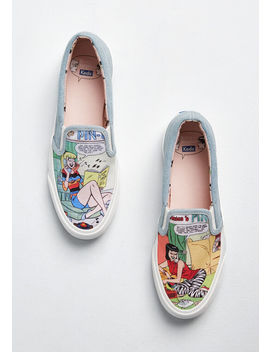 Read All About It Slip On Sneaker by Keds