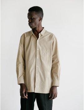 Men's Shirt Ii Beige by Cristaseya