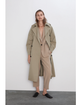 Trench Xl Tout Voir Manteaux I Trench Femme by Zara