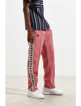 Kappa Silver Banda Astoria Pink Track Pants by Kappa