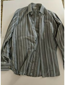 Mens 15.5 X 33/34 Fitted Dress Shirt Armani Collezioni / Collection by Armani