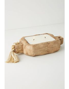 Driftwood Tray Candle by Himalayan Handmade Candles