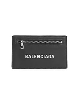 Everyday Leather Multi Card Case by Balenciaga