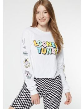 White Rainbow Looney Tunes Graphic Tee by Rue21