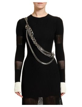 Crossbody Chain Harness by Alexander Mc Queen