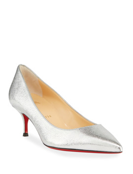 Kate Shiny Leather Red Sole Pumps by Christian Louboutin