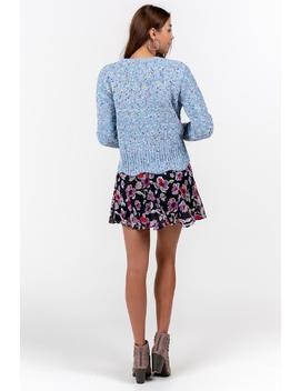 Payson Speckle Sweater by Francesca's