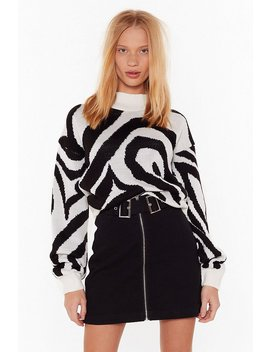 You're A Real Animal Relaxed Sweater by Nasty Gal