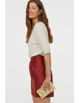 Structured Woven Skirt by H&M