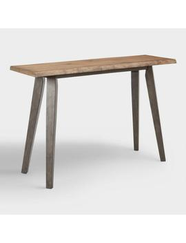 Live Edge Wood Colbie Console Table by World Market