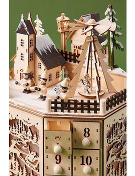 Village Advent Calendar by Anthropologie