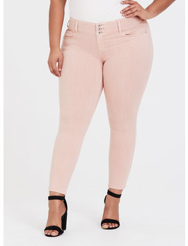 Legging   Super Stretch Blush Pink by Torrid