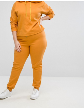 South Beach Plus Jogging Bottom In Mustard by South Beach