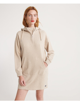 Zip Front Sweat Dress by Superdry