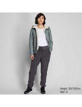 Women Fleece Lined Trousers by Uniqlo