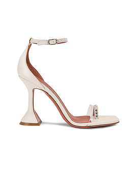 Oya Leather Sandal by Amina Muaddi