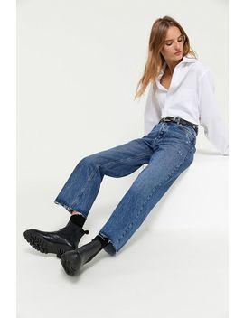 Bdg Premium Vintage Wide Leg Jean – Dark Wash by Bdg