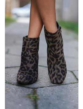 Evolve Leopard Booties by Rosie Daze