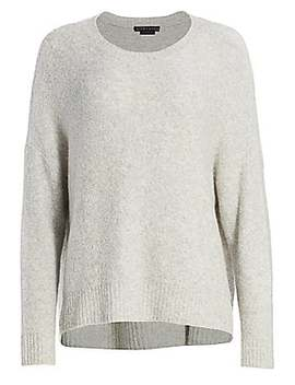 Roma Boucle Sweater by Alice + Olivia