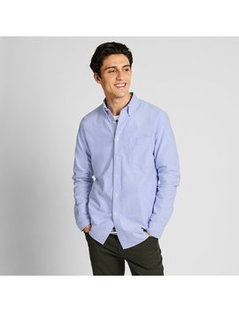 Camisa Oxford Slim Fit Hombre by Uniqlo