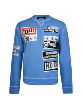 Military Punk Sweatshirt by Flannels