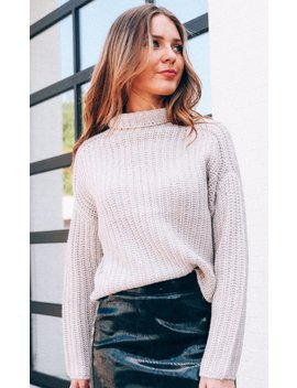 Fireside Feels Knit Sweater by Riffraff