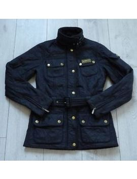 Barbour International Polarquilt Uk6 Eu32 Womens Black Quilted Ladies Jacket by Ebay Seller