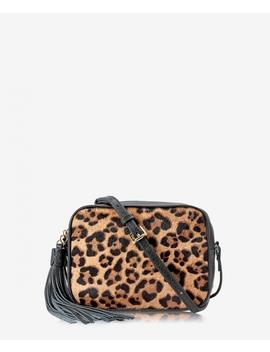 Madison Crossbody by Leopard Haircalf