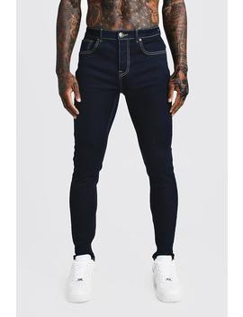 Skinny Fit Denim Jeans by Boohoo
