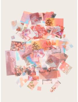 Mixed Pattern Sticker Set 70pcs by Romwe