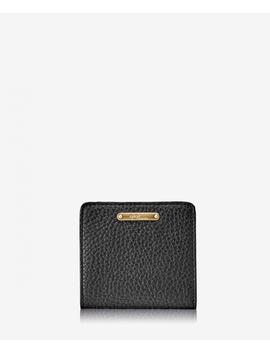 Mini Foldover Wallet by Black Pebble Grain
