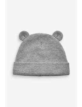 Bear Rib Hat (0mths 2yrs) by Next