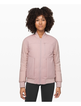 Roam Far Wool Bomber New by Lululemon