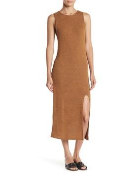 Split Side Knit Midi Dress by Abound