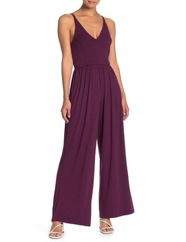 Sleeveless Wide Leg Jumpsuit by Love, Nickie Lew