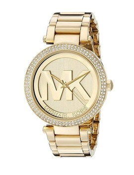 Yellow Gold Women's Big Logo Wrist Mk5784 Watch by Michael Kors