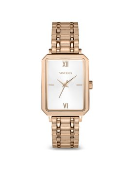 The Ava Brushed Rose Gold by Vincero