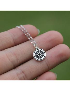 Avatar The Last Airbender Jewelry 925 Sterling Silver White Lotus Necklace Fl107 N by Etsy