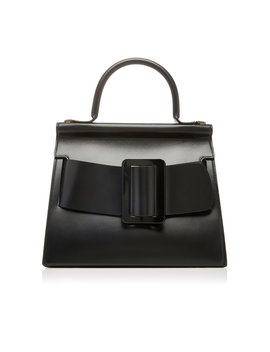 Karl 28 Leather Top Handle Bag by Boyy