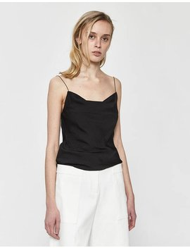 Ada Open Back Camisole In Black by Stelen Stelen