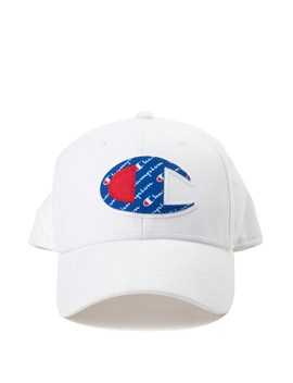 Champion Script Logo Patch Snapback Cap by Champion